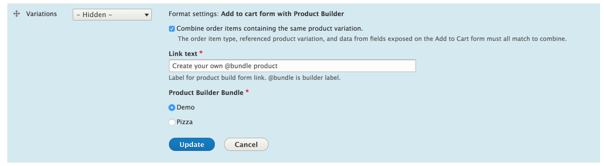 Product Builder  Part #1  Custom Pizza Builder | ZANZARRA